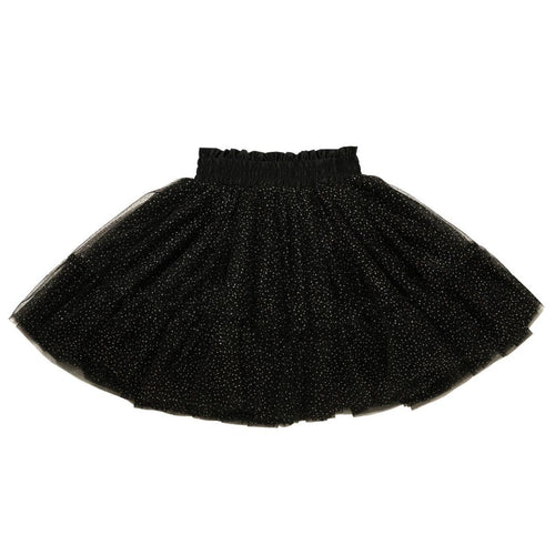 Rock your kid black glitter girls tulle skirt