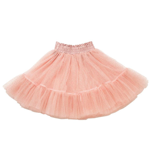 Rock your kid pink glitter tulle girls skirt