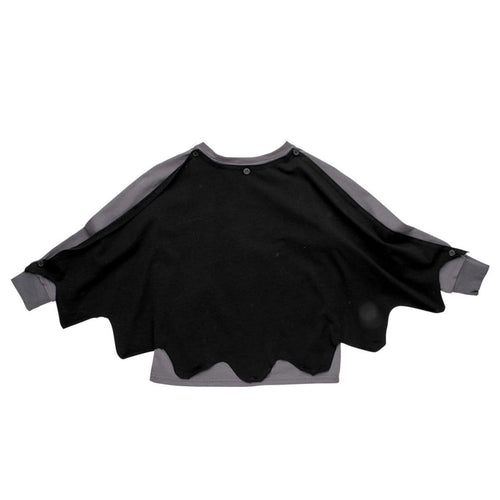 Rock your kid long sleeve superhero boys shirt with cape
