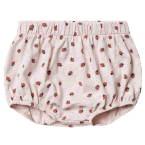 Rylee & Cru strawberry baby bloomers