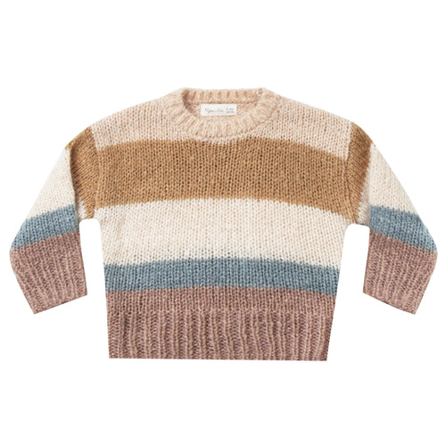 Rylee and Cru striped unisex kids sweater for girls and boys