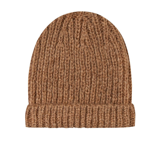 Rylee and cru rust brown kids beanie hat