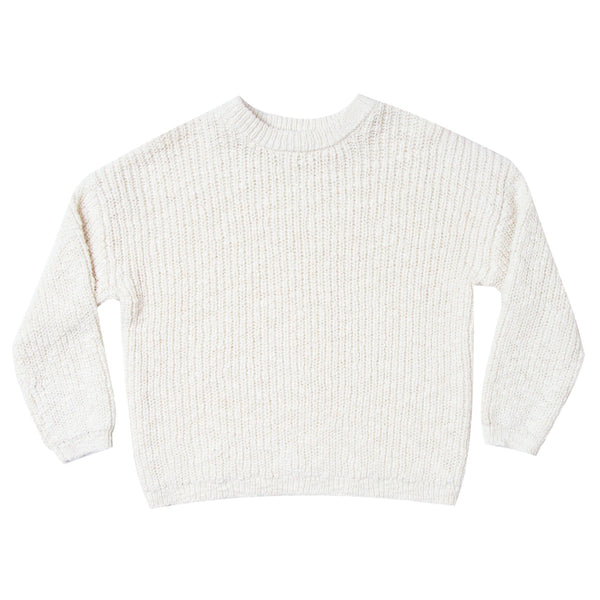 Rylee and Cru ivory sweater for boys and girls