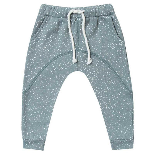 Rylee and Cru dusty blue boys sweat pants