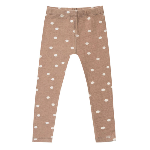 Rylee and Cru truffle dot toddler and girl leggings