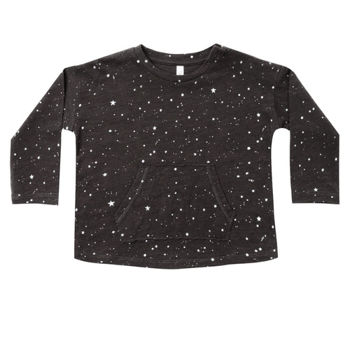 Rylee and cru cosmos print long sleeve kids tee