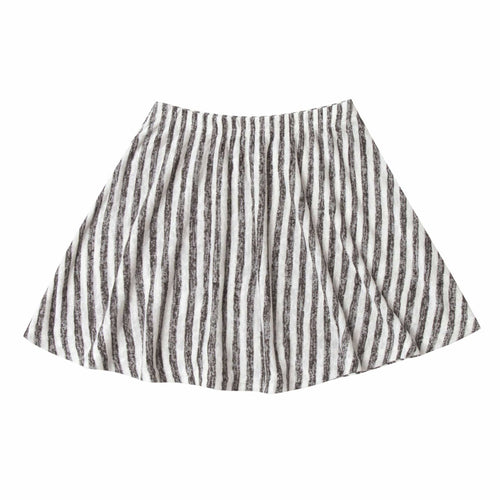 Rylee and Cru black stripe girls skirt