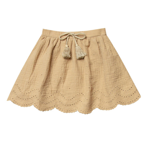 Rylee and cru honey eyelet toddler and girls skirt