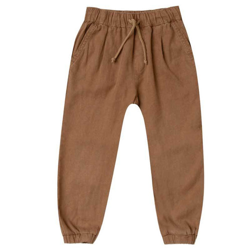 Rylee and Cru rust Boys Pants Jogger for Boys