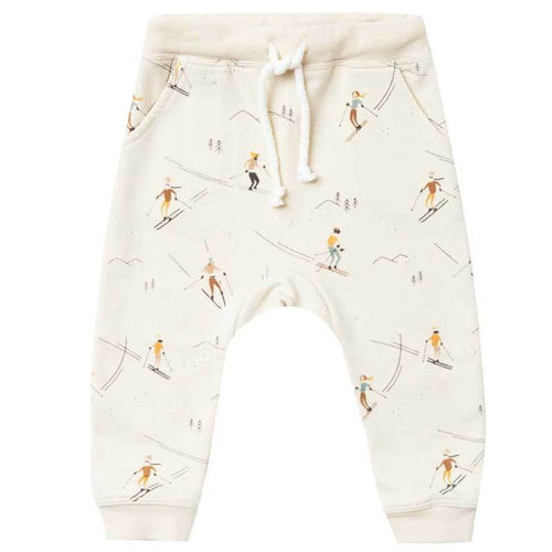 Rylee and Cru ski print kids sweatpants