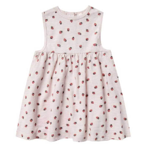 Rylee and Cru strawberry sleeveless girls dress