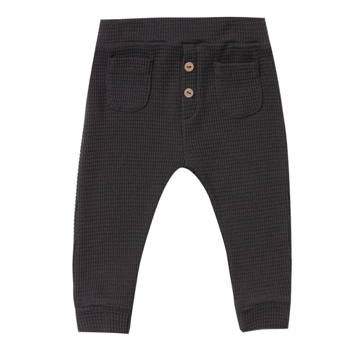Rylee and cru black thermal boys pants