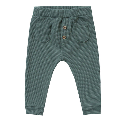 Rylee and cru green thermal baby boy pants