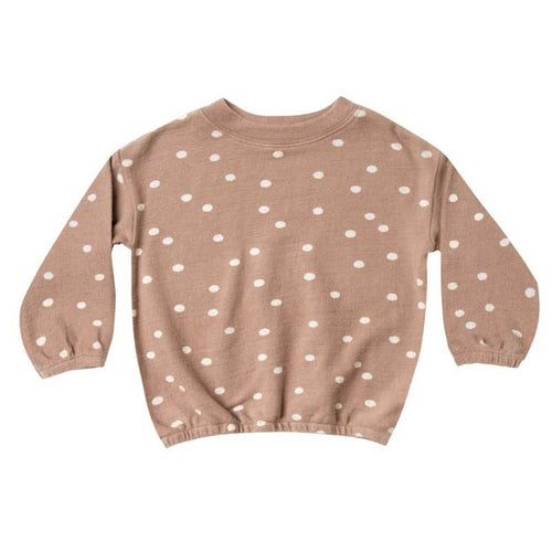 Rylee and Cru truffle dot girls sweatshirt
