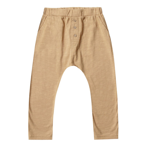 Rylee and cru honey slub knit kids pants