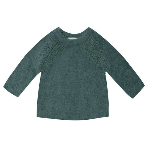 Rylee and Cru spruce green kids sweater