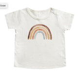 Rylee and cru short sleeve rainbow girls graphic t shirt