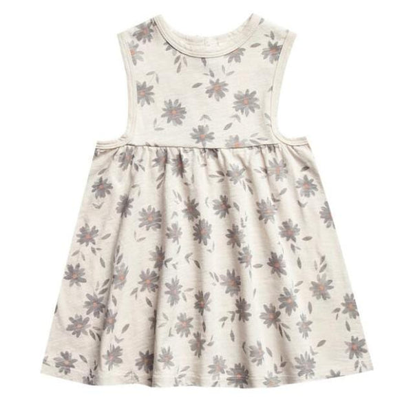 Rylee and cru daisy print knit sleeveless dress for girls