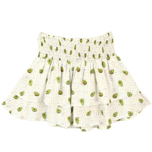 Skemo Indigo Dots Avocado Girls Skirt