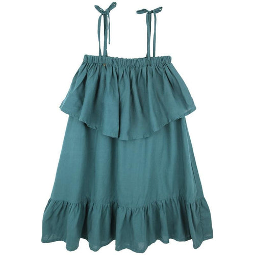 Skemo Teal Mini Girls Dress