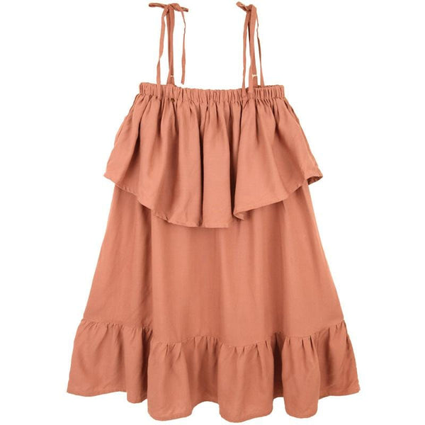 Skemo Dusty Pink Mini Girls Dress