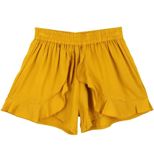 Skemo Mustard Girls Shorts