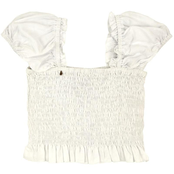 Skemo White Naomi Girls Top