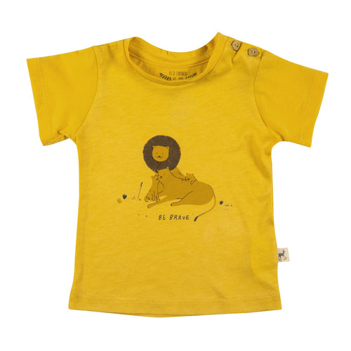 Be Brave Lion Tee by Red Caribou - Little Skye Children's Boutique