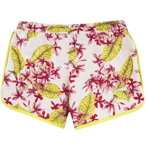 Tropical Jersey Mini Shorts by Scotch R'Belle (Preorder)