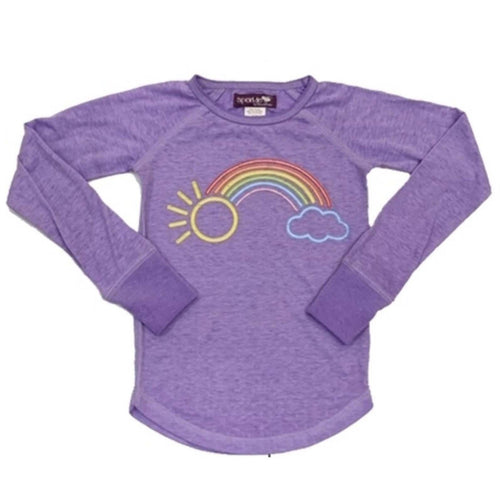 Sparkle by Stoopher Rainbow Foil Girls Tee