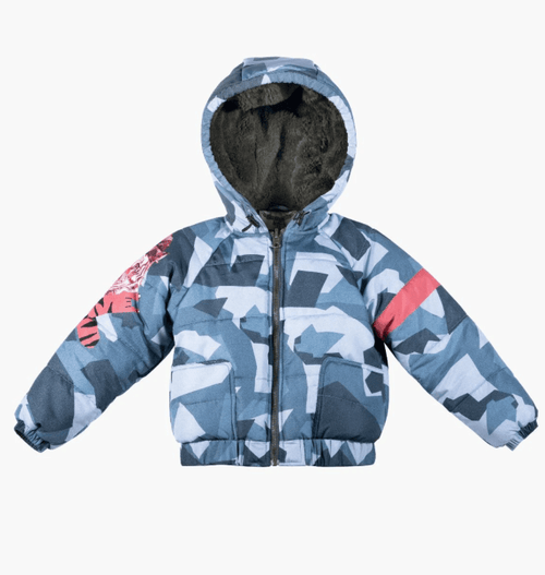 Paper Wings Tiger Camo Coat