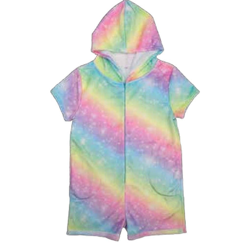 iScream Rainbow Shimmer Plush Romper