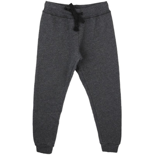 T2Love Black Cuffed Girls Sweatpants