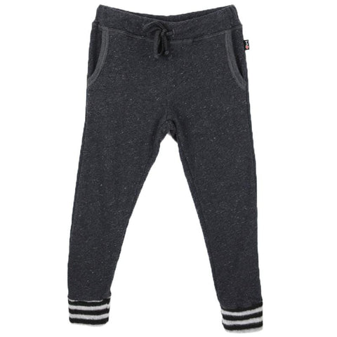 T2Love Charcoal Striped Cuff Skinny Girls Joggers