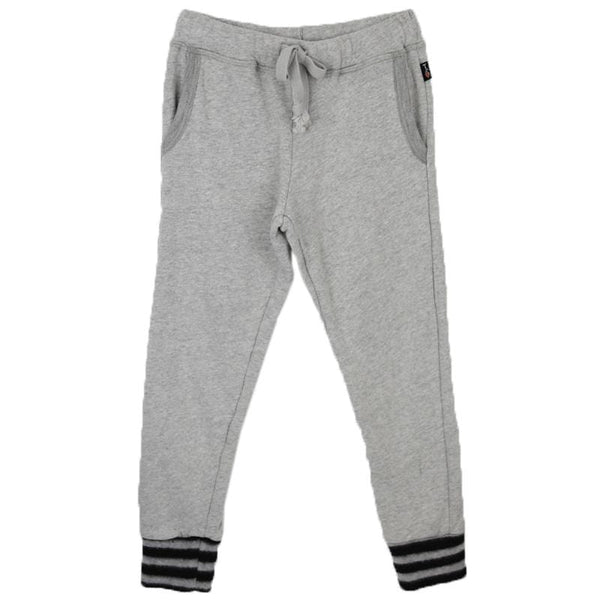 Heather grey girls sweatpants skinny cut by T2Love