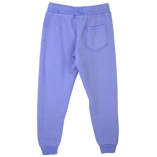 Back of purple tween girl jogger pants by T2Love