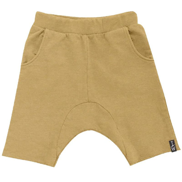 Tiny Whales Sand Cozy Time Shorts