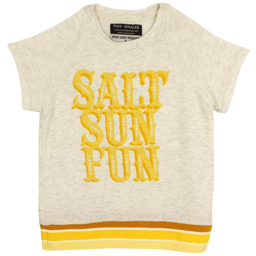 Tiny Whales Salt Sun Fun Girls Top