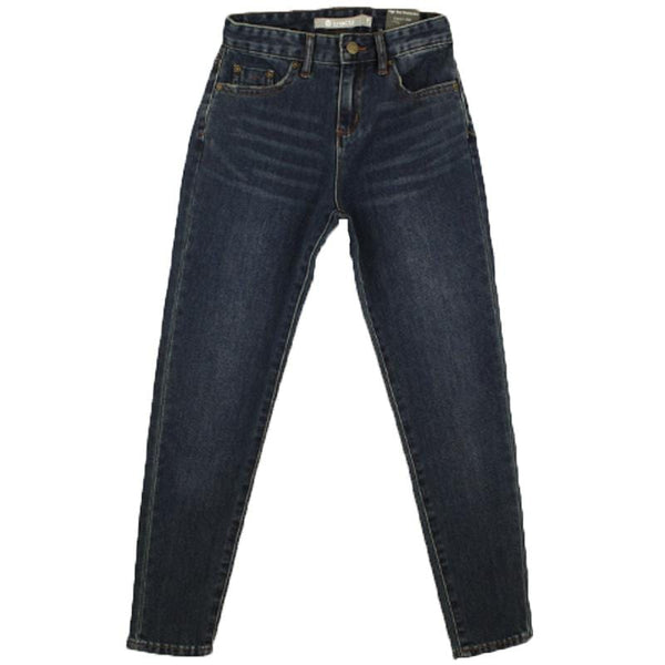 Tractr blue denim high rise tween girl jeans