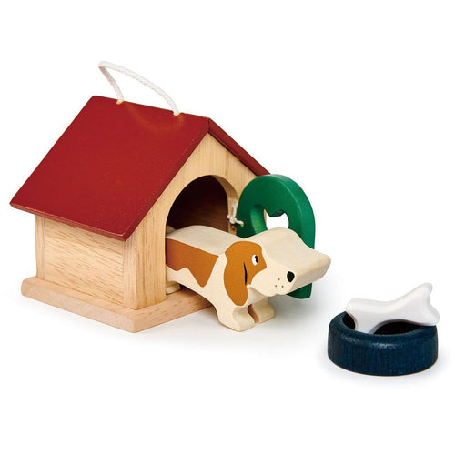 Tender Leaf Toys Dog Wooden Toy Set
