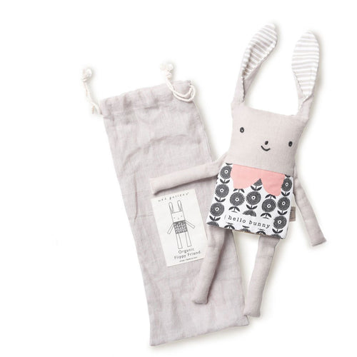 Flip story soft bunny toy by Wee Gallery