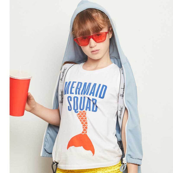 Yporque Mermaid Squad Sound Girls Tank