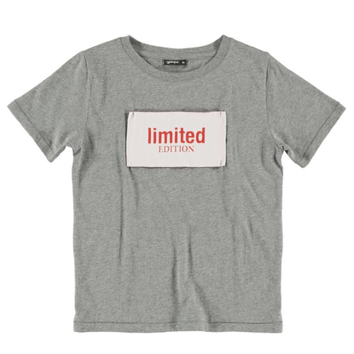 Yporque grey short sleeve limited edition boys tee