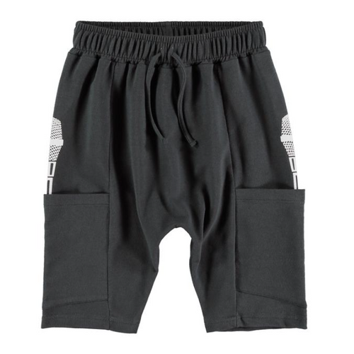 Yporque grey bermuda long cool boys shorts with side pockets