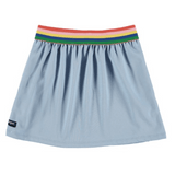 Yporque blue rainbow girls skirt