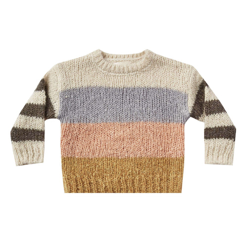 Rylee and Cru Stripe Aspen Girls Sweater