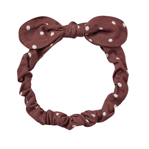 Rylee and Cru Wine Baby Bow Headband