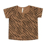 Rylee and cru short sleeve tiger stripe kids t shirt