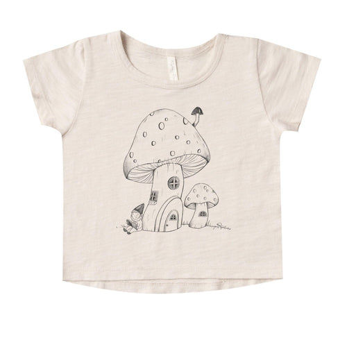 Rylee and Cru Mushroom House Basic Tee
