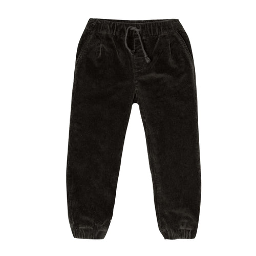 Rylee and Cru Vintage Black Beau Corduroy Boys Pants
